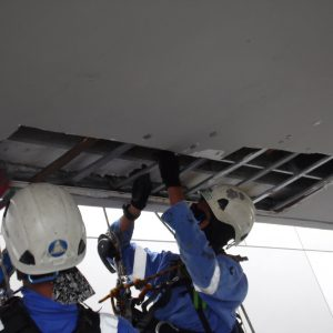 SAM_1311 False Ceiling Repair Work